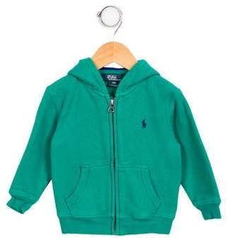 Polo Ralph Lauren Boys' Hooded Zip-Up Sweatshirt