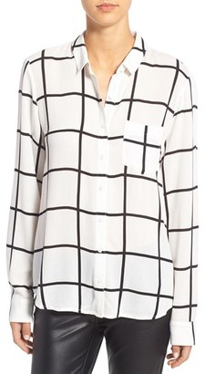 Women's Leith Stripe Shirt $65 thestylecure.com