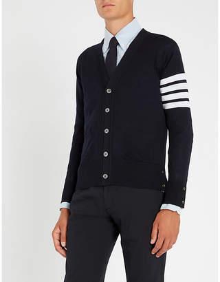 Thom Browne 4-bar wool cardigan