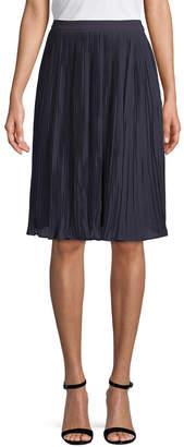 Carven Crepe A-Line Skirt