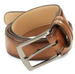 Black & Brown Black Brown Tan Leather Belt