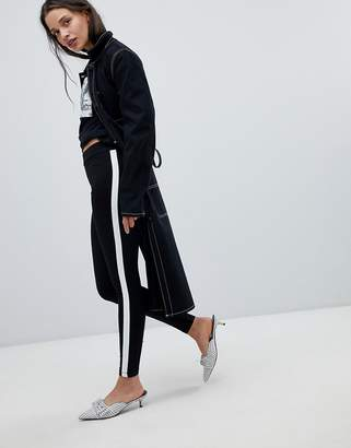 New Look Side Stripe Leggings