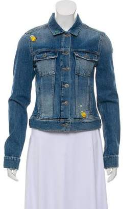 Paige Denim Embellished Wylder Jacket w/ Tags