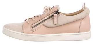 Giuseppe Zanotti Suede Low-Top Sneakers