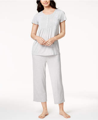 Charter Club Pleated Knit Pajama Set, Created for Macy's