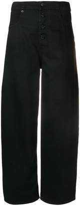 MM6 MAISON MARGIELA high waisted tailored trousershigh