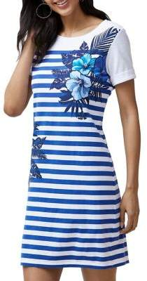 Tommy Bahama Fuego Floral T-Shirt Dress