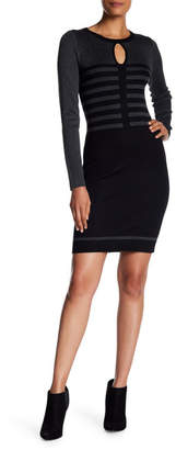 Max Studio Bodycon Sweater Dress