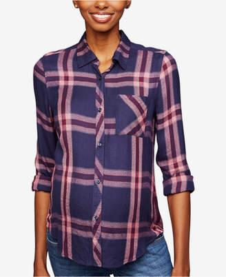 Rails Maternity Plaid Button-Front Shirt