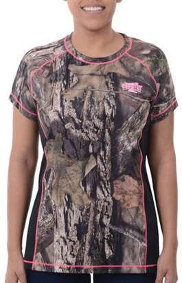 Mossy Oak Realtree and Women's Camo Short Sleeve Performance Tee