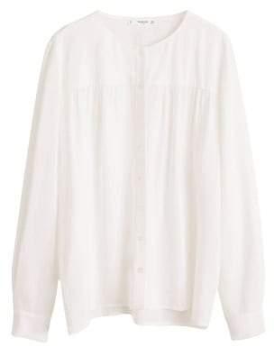 MANGO Crepe flowy blouse