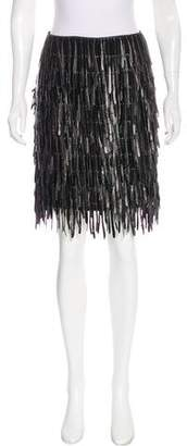 Fendi Fringe Mini Skirt