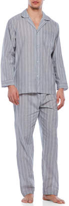 Geoffrey Beene Two-Piece Long Sleeve Pajama Set