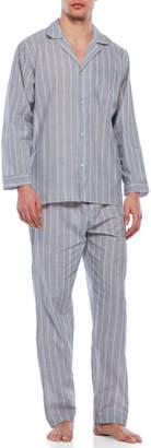 Geoffrey Beene Two-Piece Long Sleeve Pajama Set