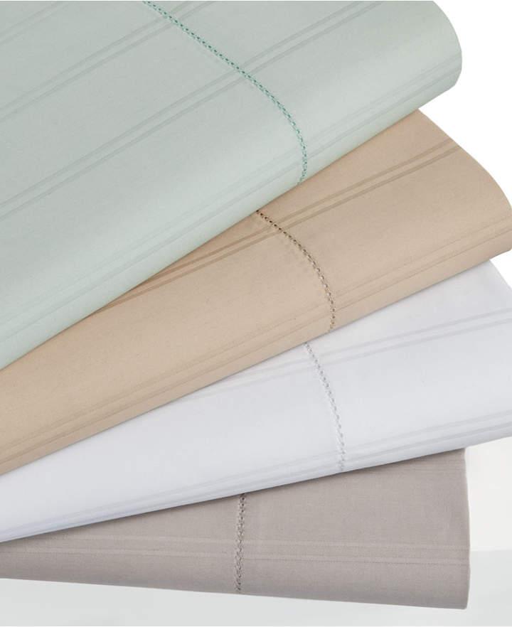 600 Thread Count Striped Queen Flat Sheet Bedding