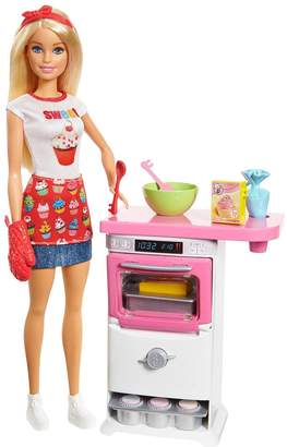 Barbie Bakery Chef Doll and Playset