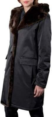 Jane Post Princess Faux Fur Coat