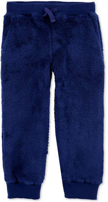 Carter's Carter Toddler Boys Fuzzy Jogger Pants