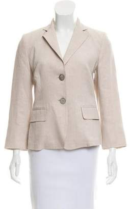 Max Mara Notch-Lapel Blazer