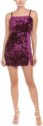 Honey Punch Velvet Mini Dress