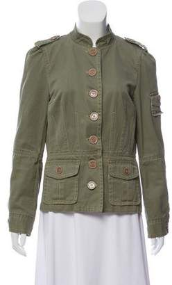 Marc Jacobs Twill Military Jacket