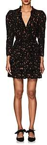Ulla Johnson Women's Josette Floral Cotton Eyelet Dress - Black