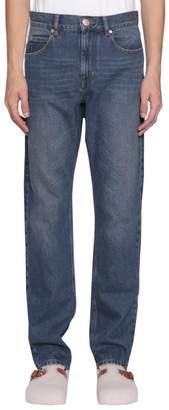 Isabel Marant Washed Blue Jack Jeans