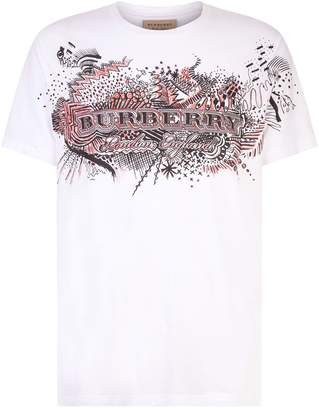 Burberry Darnley Doodle T-Shirt