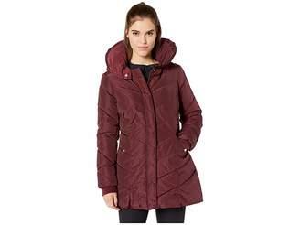 Steve Madden Mid-Length Puffer Women's Coat