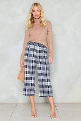Nasty Gal Keep 'Em Updated Cropped Pants