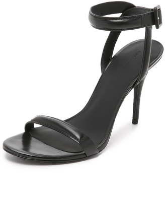 Alexander Wang Antonia Ankle Strap Sandals $475 thestylecure.com