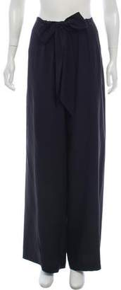Cédric Charlier Mid-Rise Silk Pants w/ Tags