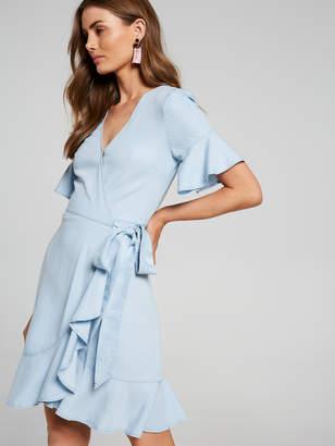 Portmans Australia Rumi Chambray Wrap Dress