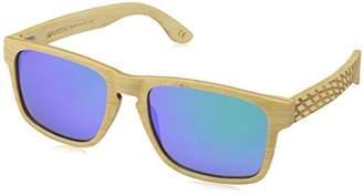 Earth Wood Whitehaven Polarized Wayfarer Sunglasses