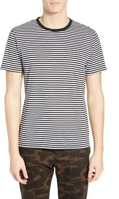 The Rail Stripe Crewneck T-Shirt
