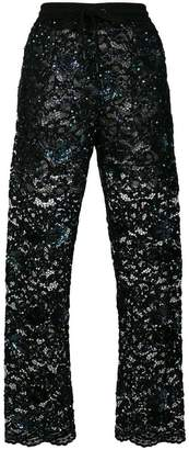 Ashish sequined tulle trousers