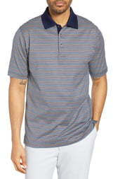 Bobby Jones Bliss Luxe Stripe Polo