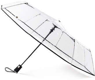 totes 3-Section Auto-Open Clear Umbrella