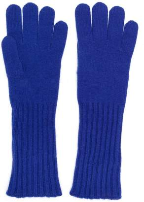 Cruciani knitted gloves