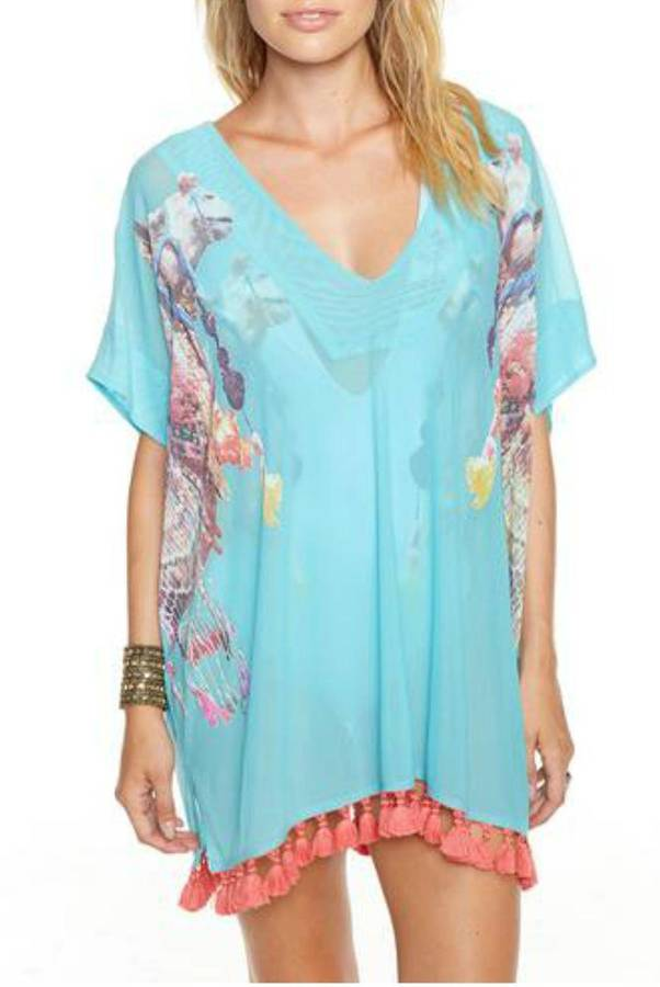 Chaser Chaser Camels Mesh Cover-Up
