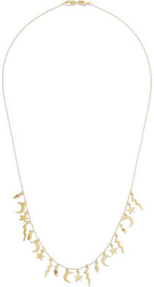 Andrea Fohrman 14-karat Gold Sapphire Necklace
