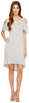 Bobeau B Collection by Sawyer Cold Shoulder Knit Dress Women's Dress