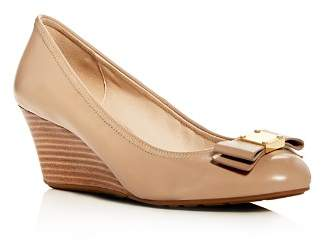 Cole Haan Women's Tali Grand Leather Wedge Pumps