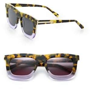 Karen Walker Deep Orchard 55MM Square Sunglasses
