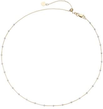 Kohl's 14k Gold Beaded Station Choker Necklace