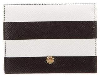 Dolce & Gabbana Striped Card Holder w/ Tags