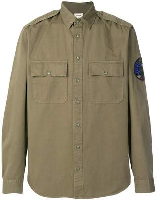 Zadig & Voltaire long-sleeve fitted shirt