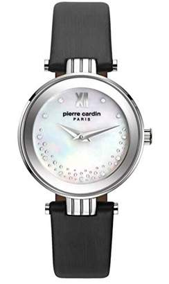 Pierre Cardin Women's Analogue Quartz Watch with Leather Strap PC108062F01