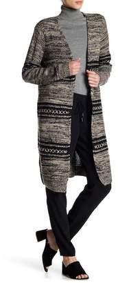 Dex Open Front Maxi Knit Cardigan