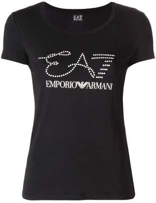 Emporio Armani Ea7 stamped T-shirt